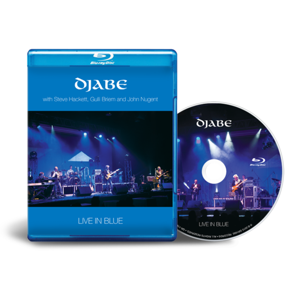 Djabe: Live in blue Blu-ray