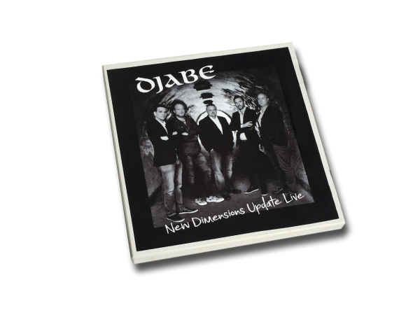 Djabe: NEW DIMENSIONS UPDATE LIVE 4-TRACK reel-to-reel