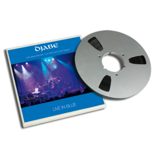 Djabe: Live in blue 2 track master tape, 45 minutes
