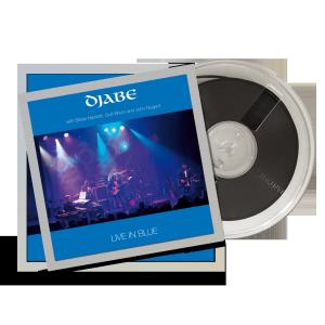 Djabe: Live in blue 4 track reel-to-reel