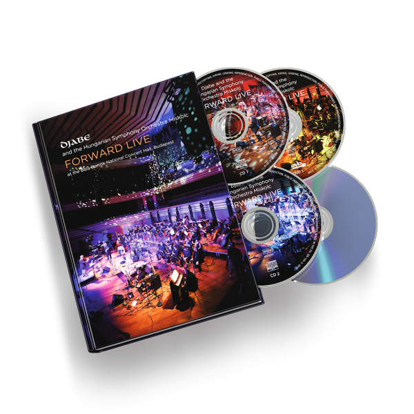 Djabe: Forward Live mediabook, 2CD+2DVD