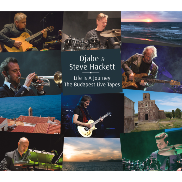 Djabe & Steve Hackett: Life Is A Journey – The Budapest Live Tapes 2CD+DVD