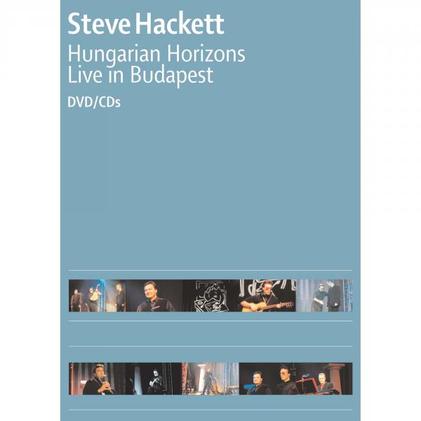 Steve Hackett: Hungarian Horizons, Live in Budapest DVD/2CD
