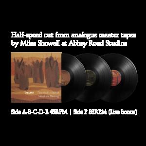 Djabe: Sheafs are Dancing 3LP box-set - 45 RPM