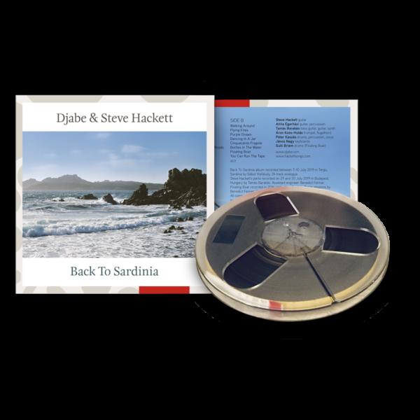 Djabe & Steve Hackett: Back To Sardinia - 4 Track Reel-to-Reel
