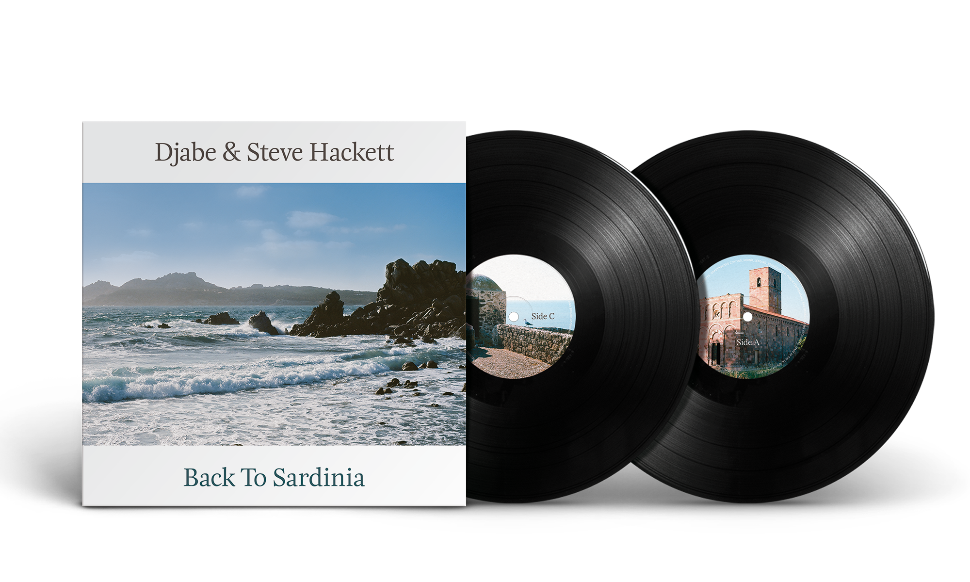 Djabe & Steve Hackett: Back To Sardinia - 2LP
