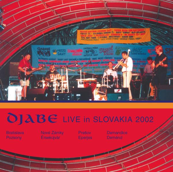Djabe Live in Slovakia CD