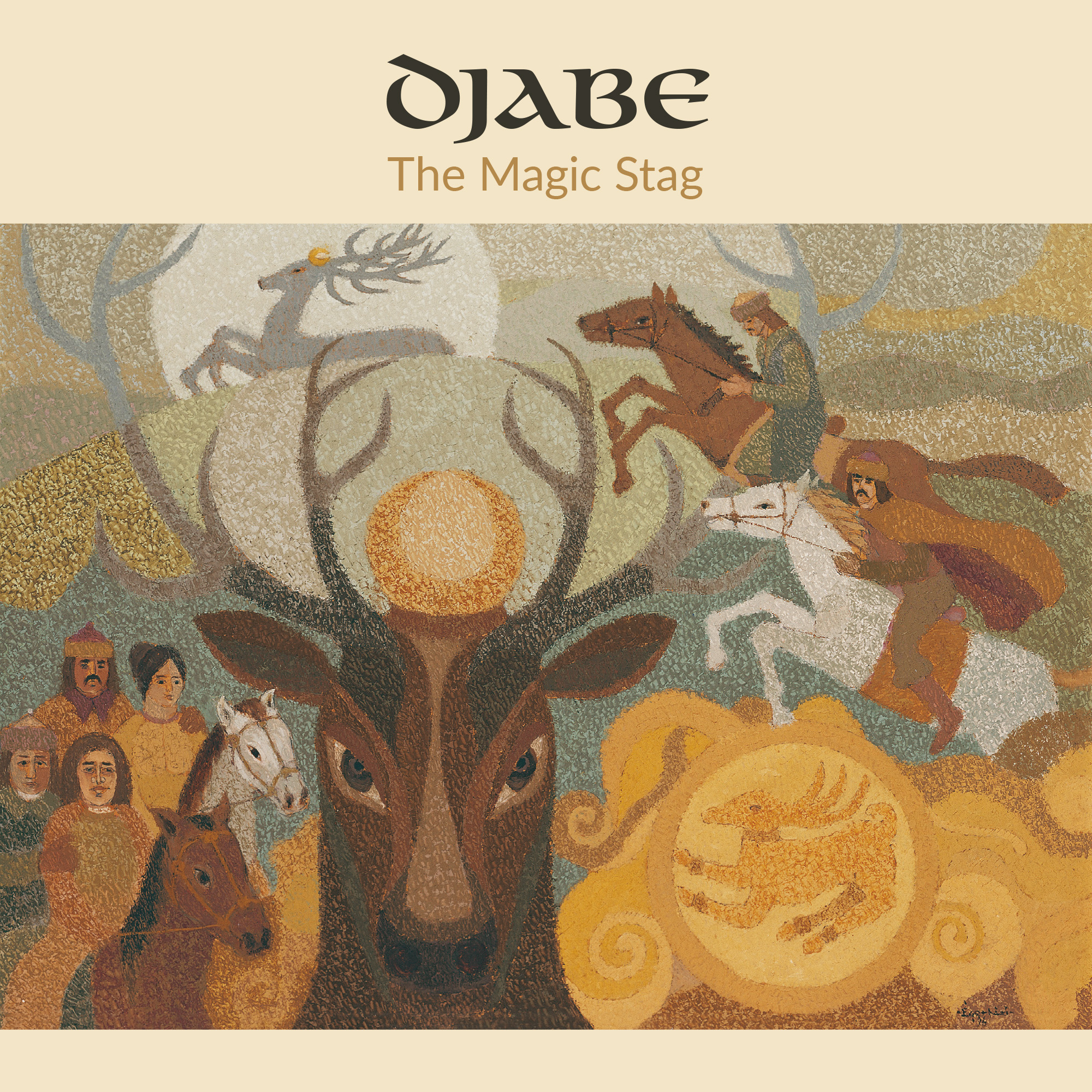 Djabe - The Magic Stag - 4 Track Reel-To-Reel Tape