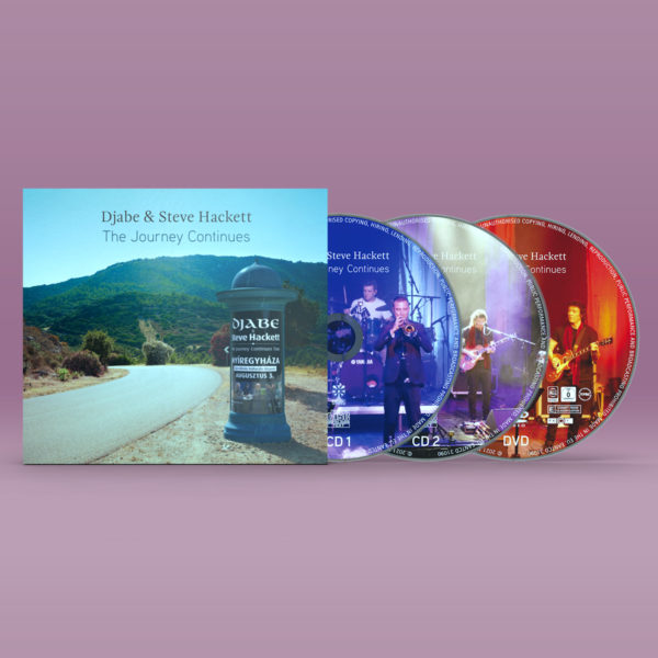 Djabe & Steve Hackett – The Journey Continues – 2CD/DVD