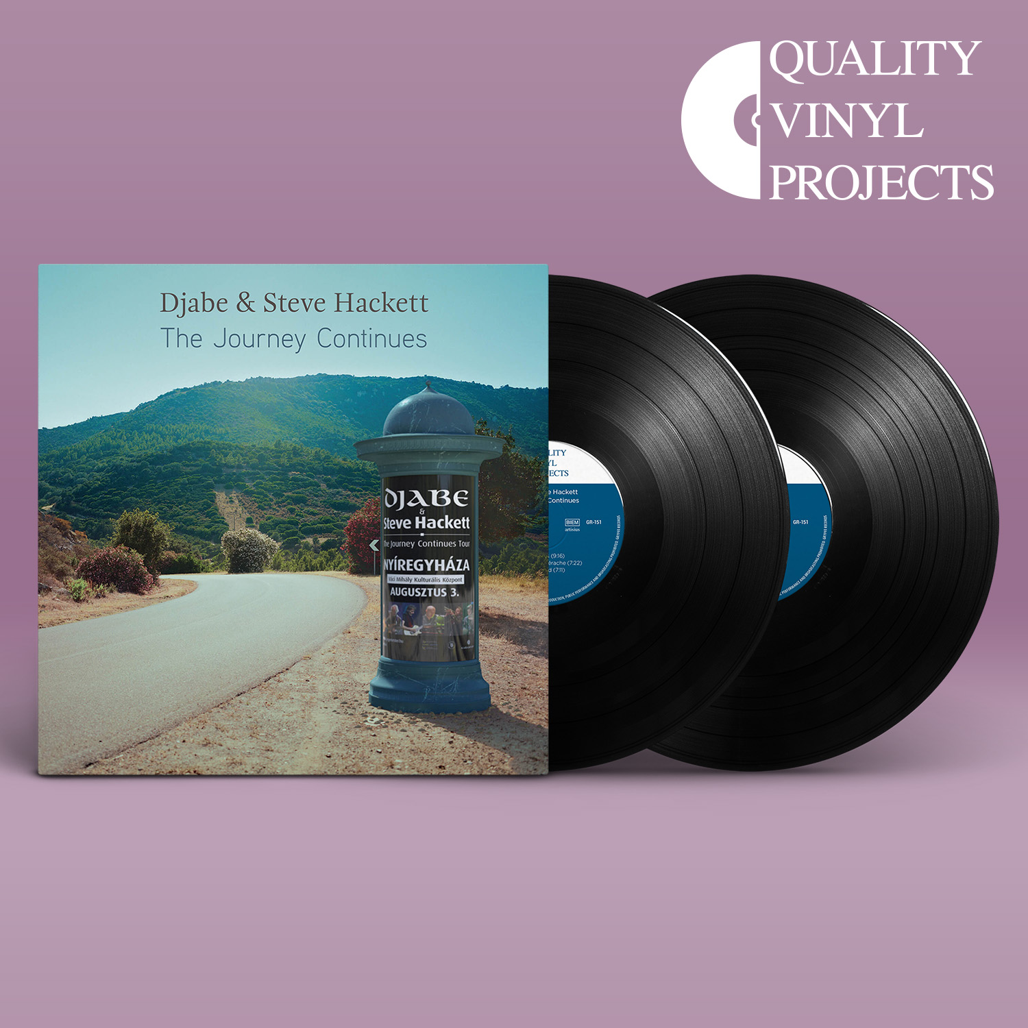 Djabe & Steve Hackett – The Journey Continues 2LP