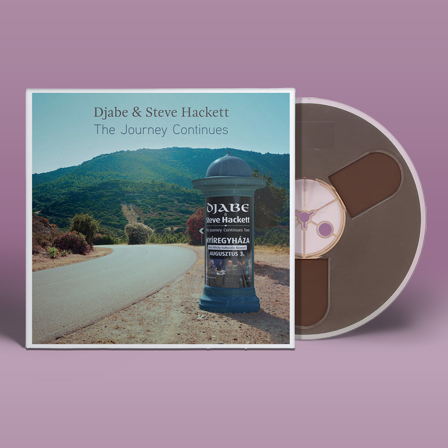 Djabe & Steve Hackett – The Journey Continues - 4 track reel-to-reel tape